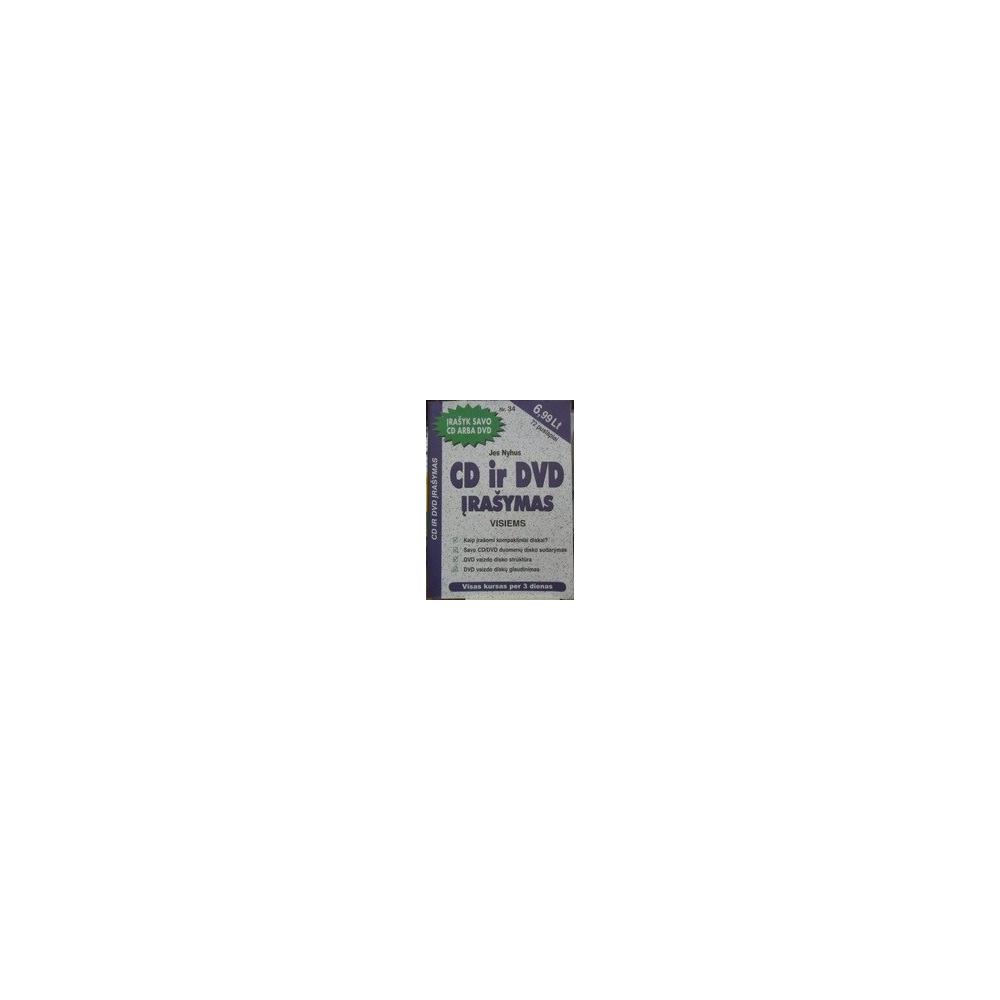 CD ir DVD įrašymas visiems. - Nyhus Jes