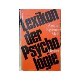 Lexikon der psychologie 1/ Band Erster