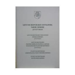 Lietuvos Respublikos savivaldybių tarybų rinkimų įstatymas.