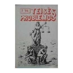 Teisės problemos 3`94