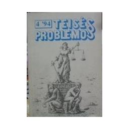 Teisės problemos 4`94