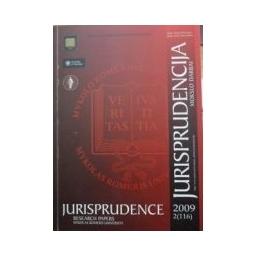 Jurisprudencija 2009 m. 3(117)/ Autorių kolektyvas