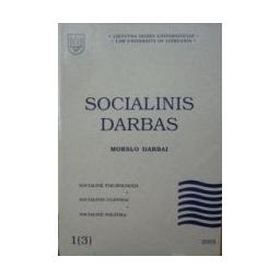 Socialinis darbas 2003/1