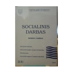 Socialinis darbas 2003/2