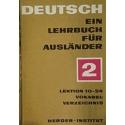 Deutsch. Ein lehrbuch für Ausländer 2. Lektion 10-24