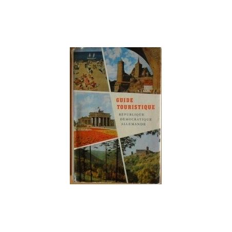 Guide touristique. Republique Democratique Allemande
