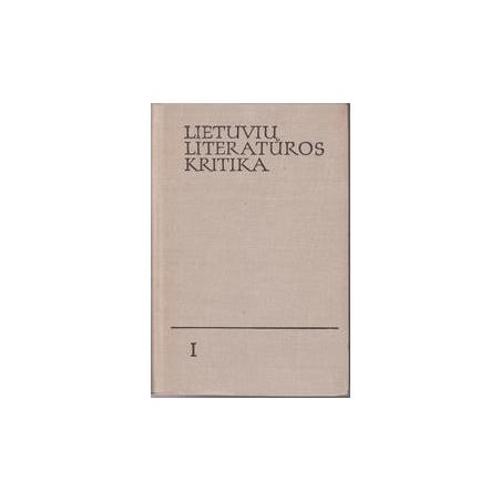 Lietuvių literatūros kritika/ Autorių kolektyvas