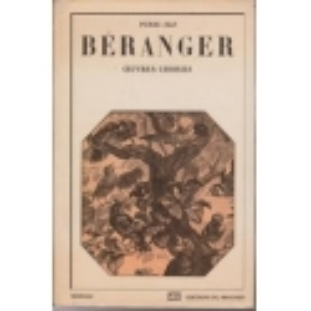 Ceuvres Choisies/ Beranger Pierre-Jean