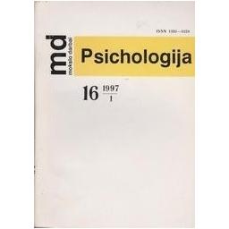 Psichologija 1997 (16)/ Mokslo darbai