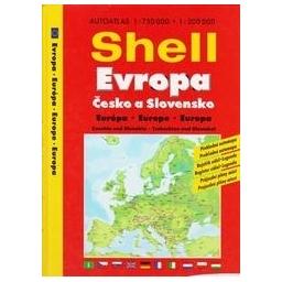 Shell Evropa, Česko a Slovensko, autoatlas/ Nėra autoriaus