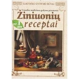 Žiniuonių receptai Nr. 1 (2014)/ Autorių kolektyvas