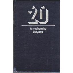 Agrochemiko žinynas/ Onaitis A., Dambrauskas K.