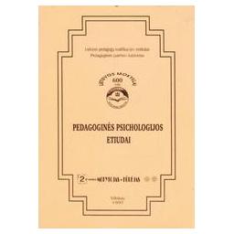Pedagoginės psichologijos etiudai/ Urbonas Stasys