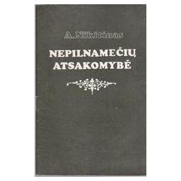 Nepilnamečių atsakomybė/ Nikitinas A.