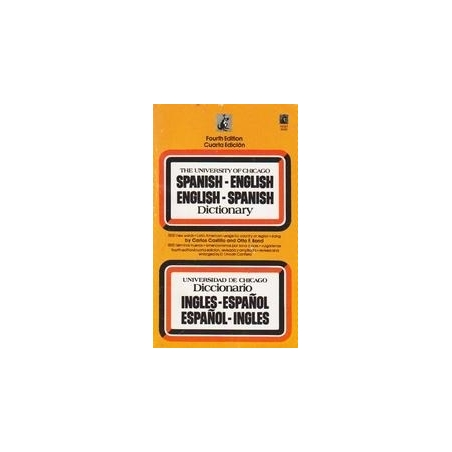 Spanish-English English-Spanish dictionary/ Castillo Carlos, Bond Otto F.