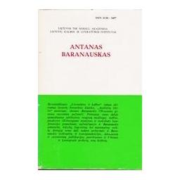 LITERATŪRA IR KALBA XIX. ANTANAS BARANAUSKAS/ Korsakas Kostas