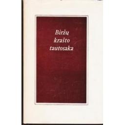 Biržų krašto tautosaka/ Janonis J., Janonienė M.