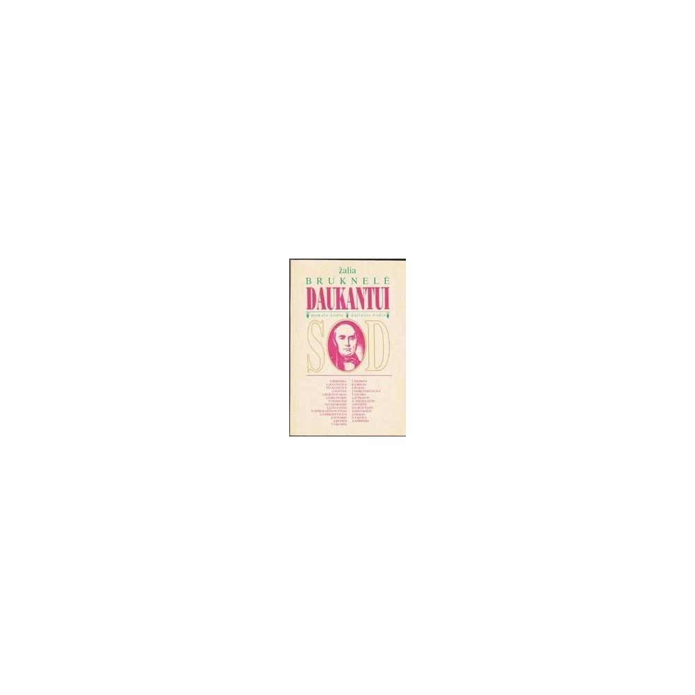 Žalia bruknelė Daukantui/ Jasaitis Juozas