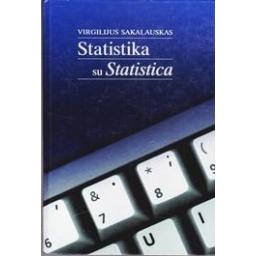 Statistika su statistica/ Sakalauskas Virgilijus