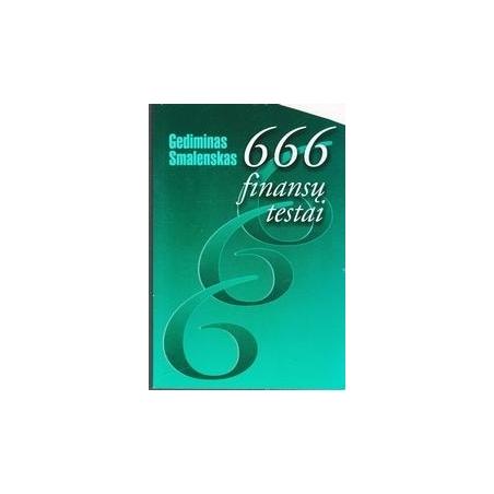666 finansų testai/ Smalenskas Gediminas