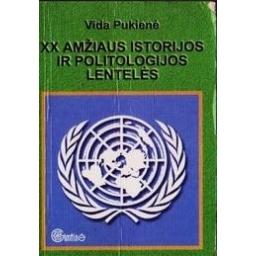 XX amžiaus istorijos ir politologijos lentelės/ Pukienė Vida