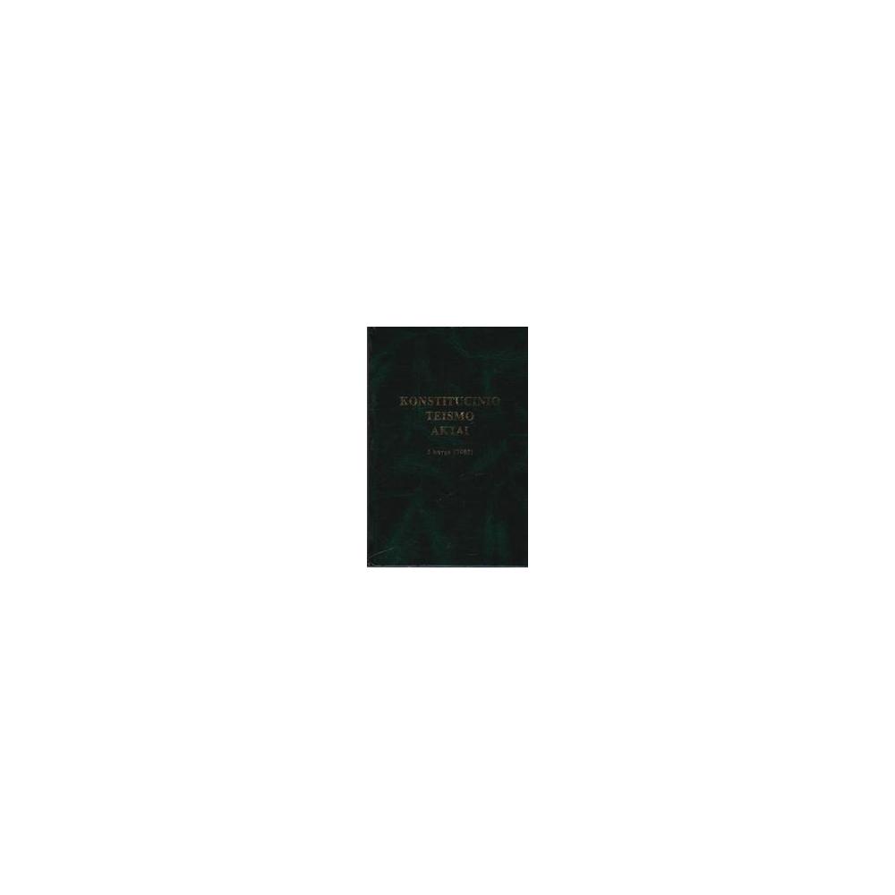 Konstitucinio teismo aktai. 5 knyga (2005)/ Viktoras Rinkevičius
