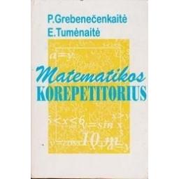 Matematikos korepetitorius/ Grebenečenkaitė P.