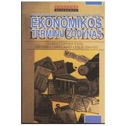 Ekonomikos terminų žodynas/ Pass Christopher