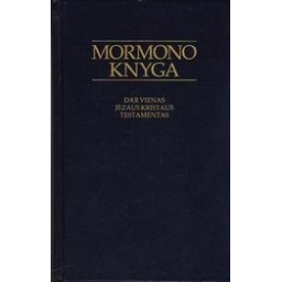 Mormono knyga. Dar vienas Jėzaus Kristaus testamentas