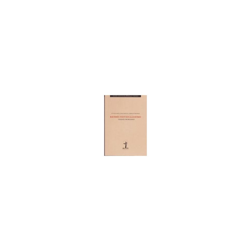 Bausmės individualizavimo teisinės problemos/ Dapšys Antanas, Misiūnas Jonas, Čaplinskas Albertas