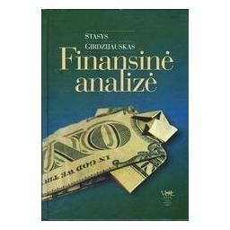 Finansinė analizė/ Girdzijauskas Stasys