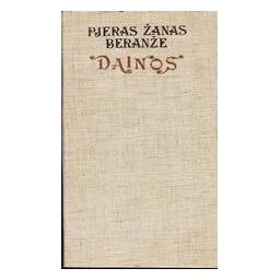 Dainos/ Beranže Pjeras Žanas