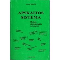Apskaitos sistema/ Valužis Kostas