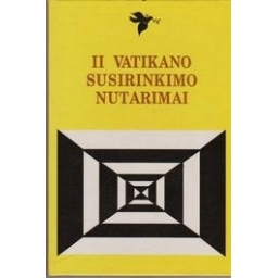 II Vatikano susirinkimo nutarimai
