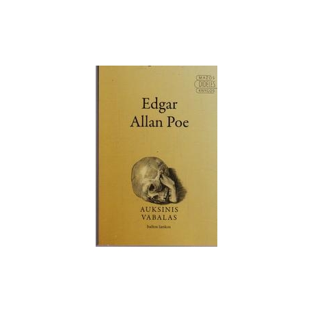 Auksinis vabalas/ Edgar Allan Poe