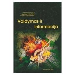 Valdymas ir informacija/ Narimantas Paliulis ir kt.