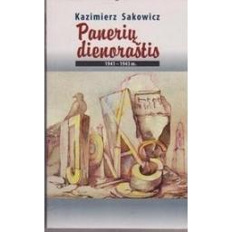 Panerių dienoraštis 1941–1943 m./ Sakowicz Kazimierz