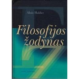 Filosofijos žodynas/ Halder Alois