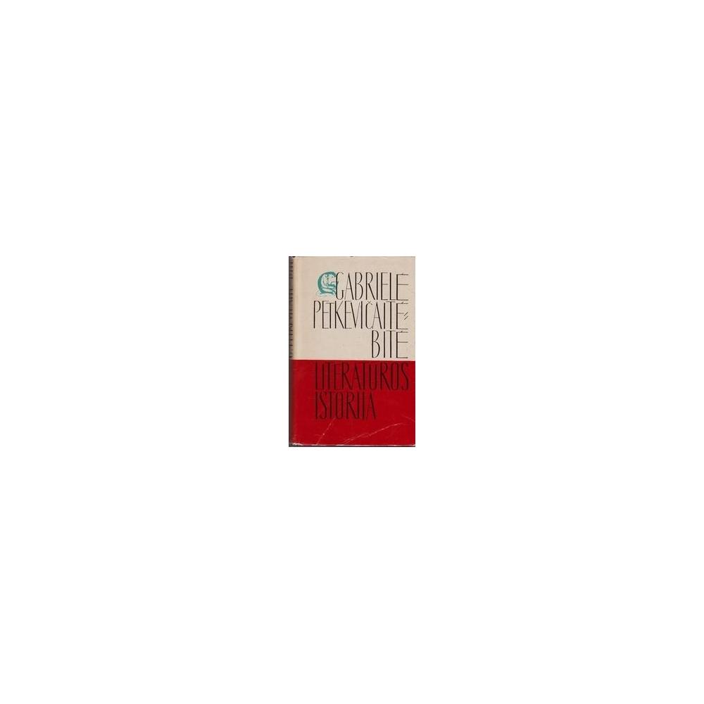 Raštai. Literatūros istorija (5 tomas)/ Petkevičaitė-Bitė Gabrielė