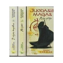 """Magų gildija. Naujokė. Didysis magistras (Trilogija """"Juodasis magas"""")/ Trudi Canavan"""