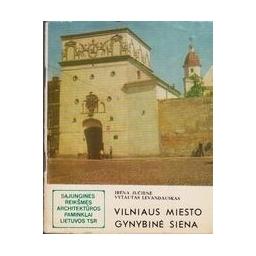 Vilniaus miesto gynybinė siena/ Jučienė I., Levandauskas V.