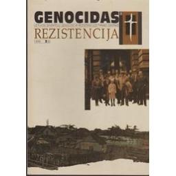 Genocidas ir rezistencija 1999 2(6)/ Dalia Kuodytė