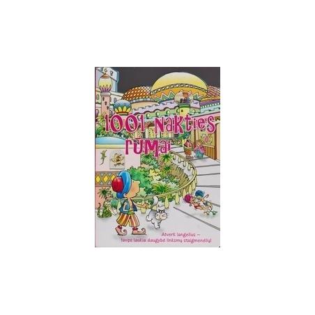 1001 nakties rūmai: atverk langelius - tavęs laukia daugybė linksmų staigmenėlių!/ Lombardi Vanina