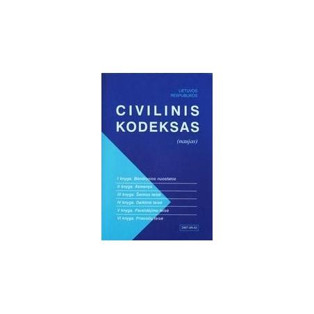 Lietuvos Respublikos civilinis kodeksas (Naujas)