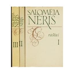 Raštai (3 tomai)/ Nėris Salomėja