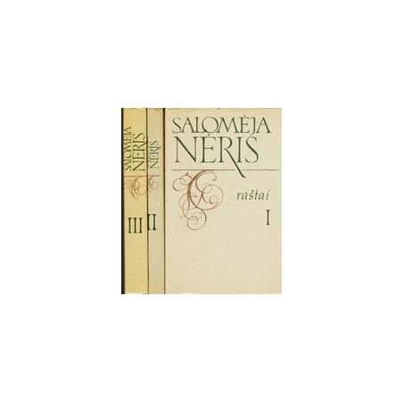 Raštai (3 tomai)/ Salomėja Nėris