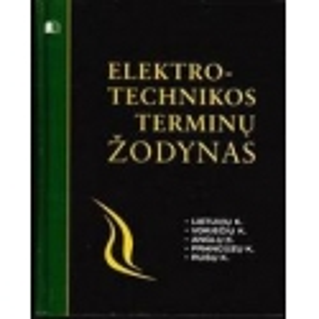 Elektrotechnikos terminų žodynas