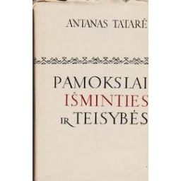 Pamokslai išminties ir teisybės/ Tatarė Antanas
