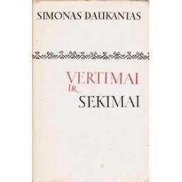 Vertimai ir sekimai/ Daukantas Simonas