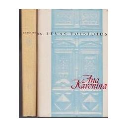 Ana Karenina (2 knygos)/ Levas Tolstojus